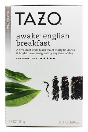 Tazo - Black Tea Awake English Breakfast - 20 Tea Bags