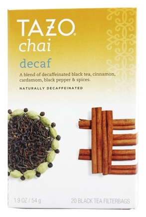 Tazo - Black Tea Decaffeinated Chai - 20 Tea Bags