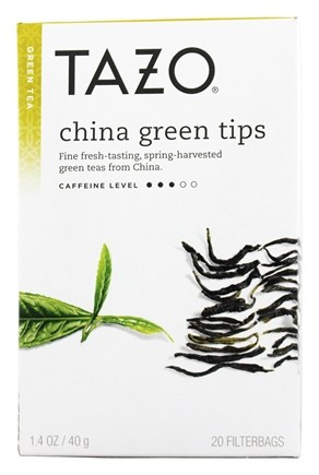 Tazo - Green Tea China Green Tips - 20 Tea Bags