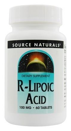 Source Naturals - R-Lipoic Acid 100 mg. - 60 Tablets