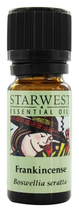 Starwest Botanicals - Frankincense Essential Oil (1/3 oz.) - 0.33 oz.