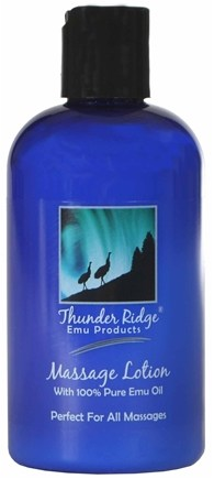 DROPPED: Thunder Ridge Emu Products - Massage Lotion - 8 oz. CLEARANCE PRICED