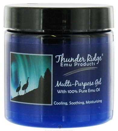 DROPPED: Thunder Ridge Emu Products - Multi-Purpose Gel - 4 oz. CLEARANCE PRICED