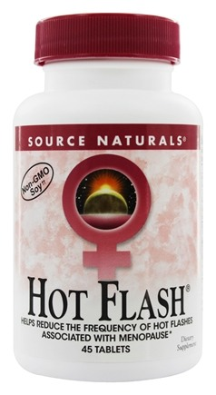 DROPPED: Source Naturals - Hot Flash Eternal Woman - 45 Tablets