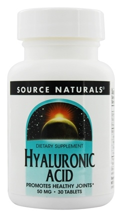 DROPPED: Source Naturals - Hyaluronic Acid 50 mg. - 30 Tablets