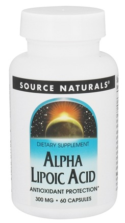 Source Naturals - Alpha Lipoic Acid 300 mg. - 60 Capsules (formerly Timed Released)