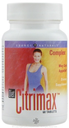 DROPPED: Source Naturals - Diet Citrimax Complex - 60 Tablets