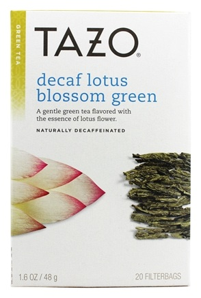 Zoom View - All Natural Green Tea Lotus Decaffeinated