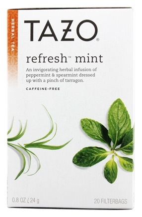 Tazo - Herbal Tea Caffeine Free Refresh Mint - 20 Tea Bags