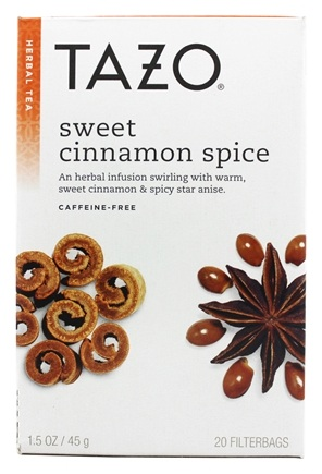 Tazo - Herbal Tea Caffeine Free Sweet Cinnamon Spice - 20 Tea Bags