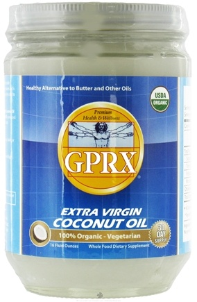 DROPPED: Great Physician's RX - Organic Extra Virgin Coconut Oil - 16 oz.