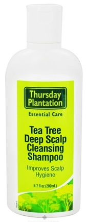 DROPPED: Thursday Plantation - Tea Tree Deep Scalp Cleansing Shampoo - 6.7 oz. CLEARANCE PRICED