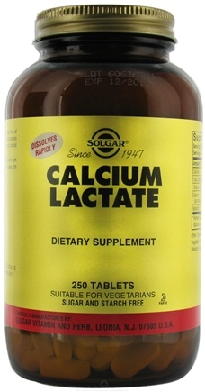 Zoom View - Calcium Lactate