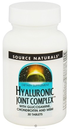 DROPPED: Source Naturals - Hyaluronic Joint Complex - 30 Tablets CLEARANCED PRICED