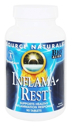 Source Naturals - Inflama-Rest - 90 Tablets