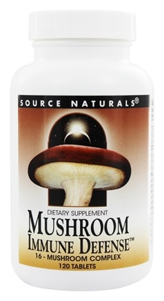 Source Naturals - Mushroom Immune Defense - 120 Tablets