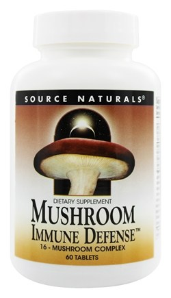 Source Naturals - Mushroom Immune Defense - 60 Tablets