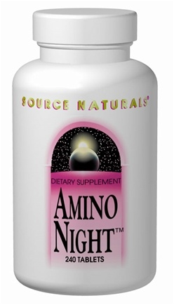 DROPPED: Source Naturals - Amino Night - 120 Tablets