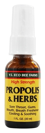 Zoom View - Propolis Herb Throat Spray