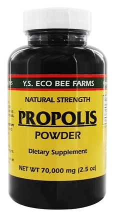 YS Organic Bee Farms - Propolis Powder 70000 mg - 2.5 oz.