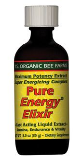 DROPPED: YS Organic Bee Farms - Pure Energy Elixir:22 Royal Jelly (Glass Bottle) 800 mg. - 3 oz.