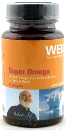 DROPPED: Weil Nutritional Supplements - Super Omega from Arctic Krill Oil - 60 Softgels
