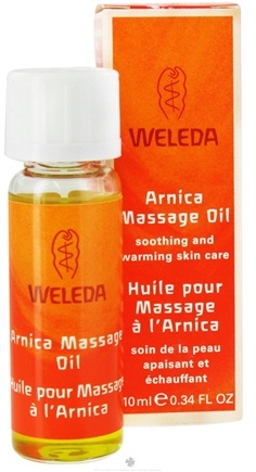 Zoom View - Arnica Massage Oil - Travel Size