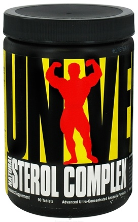 DROPPED: Universal Nutrition - Natural Sterol Complex - 90 Tablets CLEARANCE PRICED