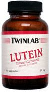 DROPPED: Twinlab - Lutein 20 mg. - 30 Capsules