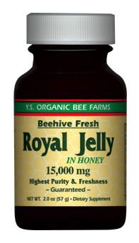 DROPPED: YS Organic Bee Farms - Royal Jelly In Honey (Glass Bottle) 15000 mg. - 2 oz.