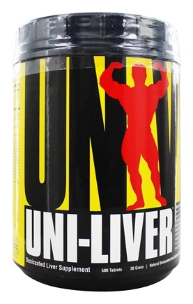 Zoom View - Uni-Liver Desiccated Liver Supplement