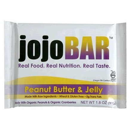 DROPPED: Vital NRG - Jojo Organic Food Bar Peanut Butter & Jelly - 1.8 oz.