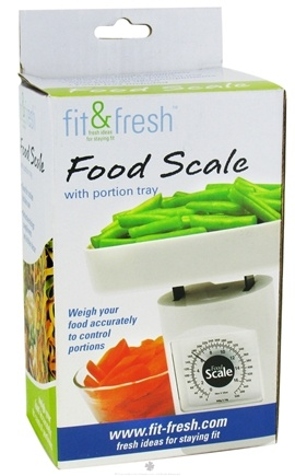 Zoom View - Food Scale with Portion Tray