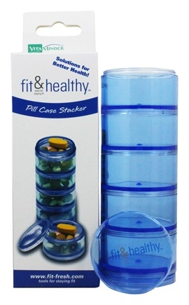 Zoom View - Fit & Healthy Pill Case Stacker
