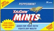 DROPPED: XyliChew - Mints Sugar Free 100% Xylitol Peppermint Flavored - 50 Piece(s)