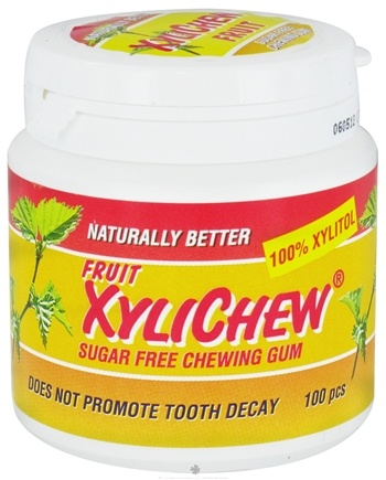 DROPPED: XyliChew - Chewing Gum Fruit - 100 Piece(s)