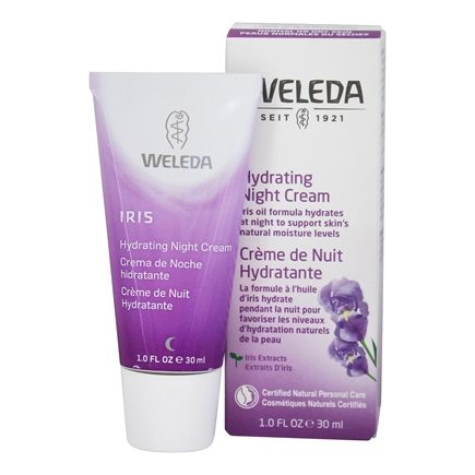 Weleda - Iris Hydrating Night Cream - 1 oz.