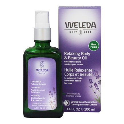 Weleda - Lavender Relaxing Body Oil - 3.4 oz.