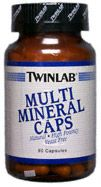 DROPPED: Twinlab - Multi Mineral Caps - 90 Capsules