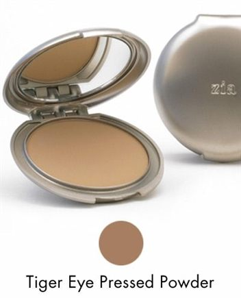 DROPPED: Zia - Foundation Powder Compact Refill Tiger - 0.5 oz.