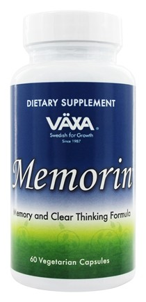DROPPED: Vaxa - Memorin 660 mg. - 60 Vegetarian Capsules