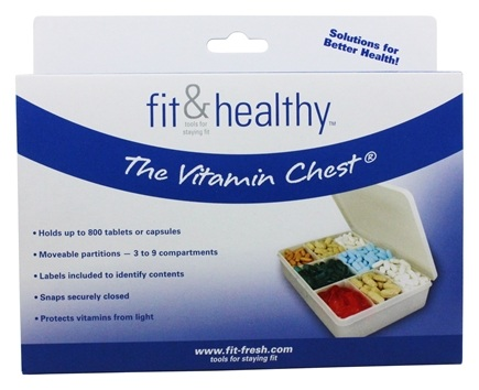 Fit & Fresh - Fit & Healthy Vitamin Chest - formerly by Vitaminder