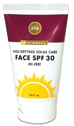 DROPPED: Zia - Ultimate Age-Defying Solar Care Face 30 SPF - 1.8 oz.