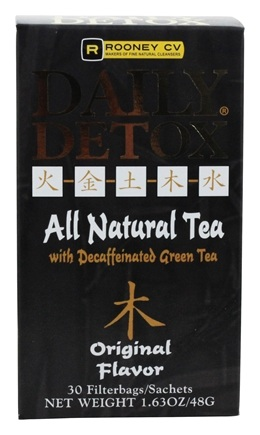 Wellements - Daily Detox All Natural Tea Original Flavor - 30 Tea Bags