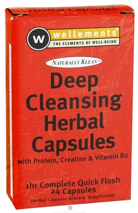 DROPPED: Wellements - Naturally Klean Deep Cleansing Herbal Capsules - 24 Capsules