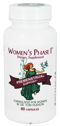 DROPPED: Vitanica - Woman's Phase I - 60 Capsules CLEARANCE PRICED