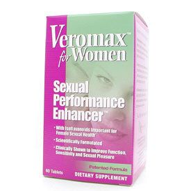 DROPPED: VeroMax International - Natural Female Sexual Enhancer - 60 Tablets