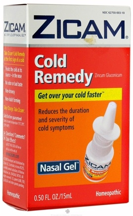 DROPPED: Zicam - Cold Remedy Liquid Nasal Gel - 0.5 oz.