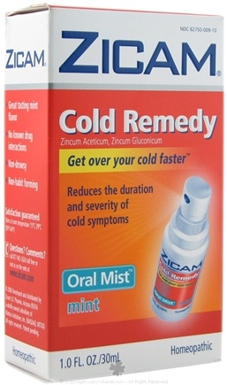 DROPPED: Zicam - Cold Remedy Oral Mist - 1 oz. CLEARANCE PRICED