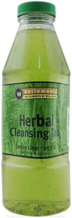 DROPPED: Wellements - Liquid Herbal Cleansing Tea Lemon Lime Flavor - 20 oz. CLEARANCE PRICED